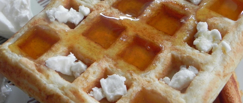 Quick waffles according to taste