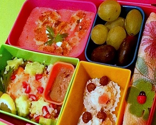 Lunchbox menu_salmon