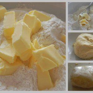 Quick all purpose pastry dough