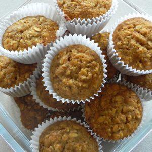 Golden Pumpkin Cinnamon Muffins