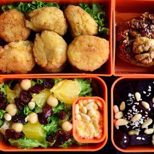 Lunchbox menu: кюфтета от леща с артишок