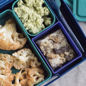 Lunchbox menu detox карфиол с веган ранчо сос