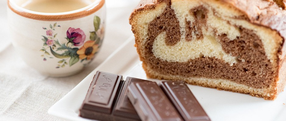 eating by design with lunchbox chocolate marble cake