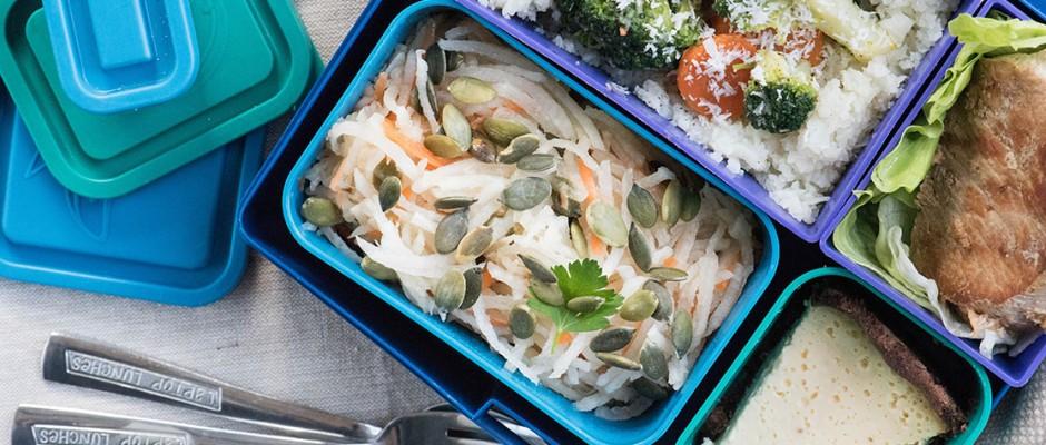 Lunchbox menu portion perfect Ориз от карфиол