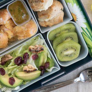 lunchox меню Скаридити с манго сос