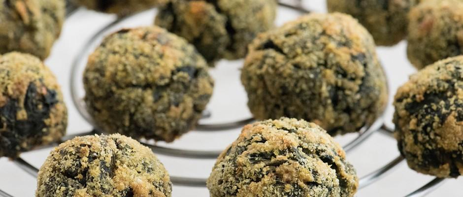 dock leaves oven bakes balls
