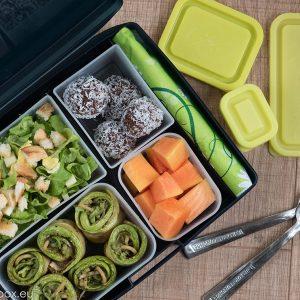 portion perfect menu Lunchbox menu Рулца от тиквички