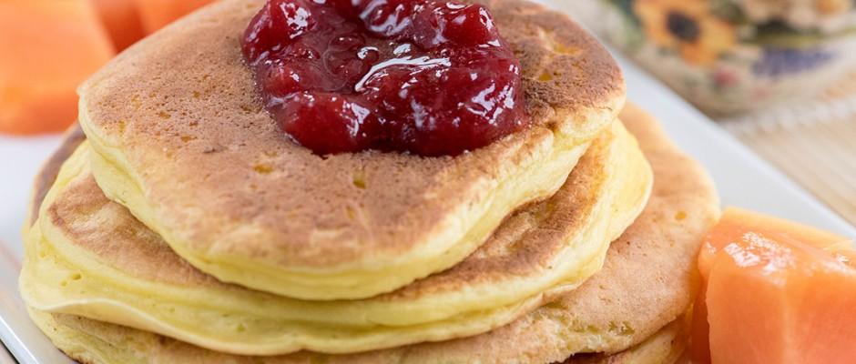 ricotta spring pancakes