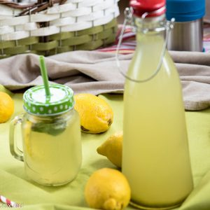 Lemonade with ginger for Lunchbox thermos