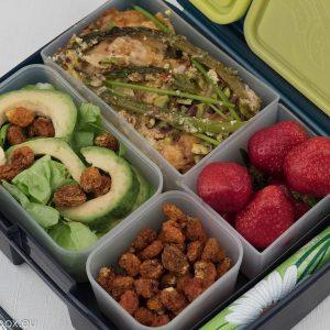 lunchbox menu asparagus