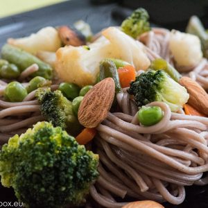 Buckwheat noodles with
