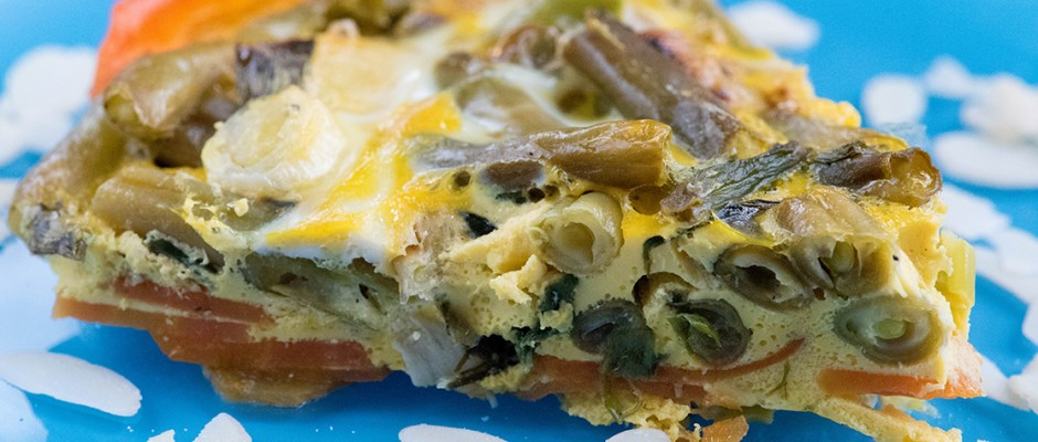 Piece of Low Carb quiche
