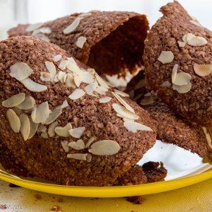Бадемови керемидени бисквити