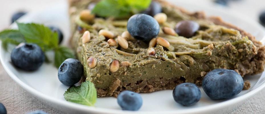 Vegan Tart With Avoccado