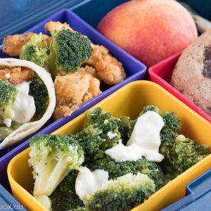 Lunchbox menu KFC