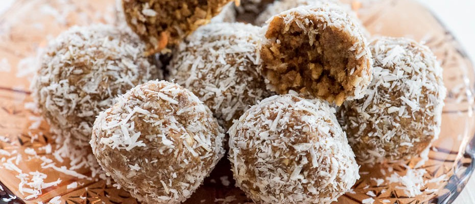 Nut Free Vegan Carrot Balls