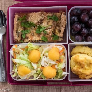 lunchbox menu for concentration