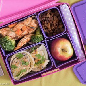 Lunchbox menu - броколи и резене