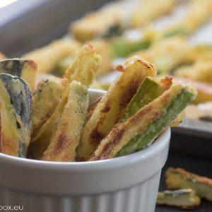 oven fried zucchini