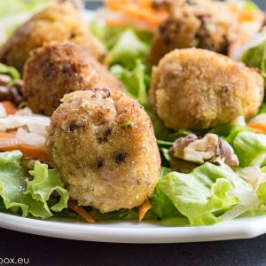 Quick Tuna Balls for Lunchbox