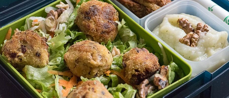 Lunchbox menu: Tuna bites