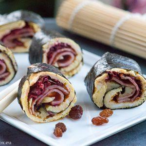 Paleo sushi, carbs free