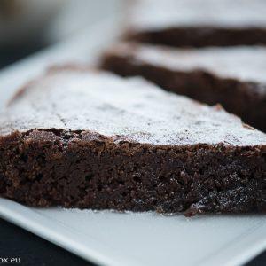 френски шоколадов кейк