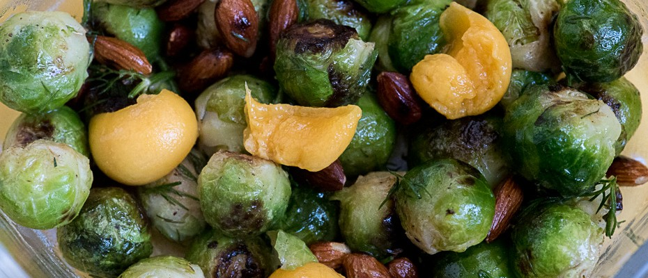 Brussels Sprout Hot Salad