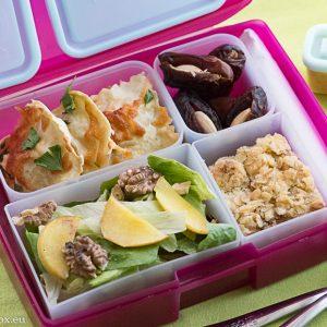 Lunchbox menu: Равиоли с праз