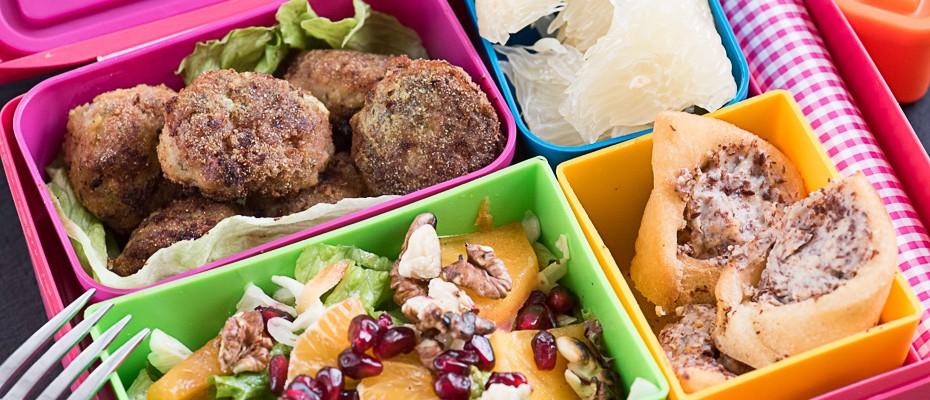 Lunchbox menu: Ginger meat balls