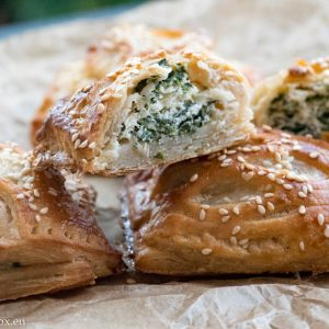 Ricotta and spinach bites for Lunchbox