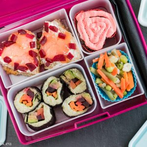 Lunchbox menu Свети Валентин