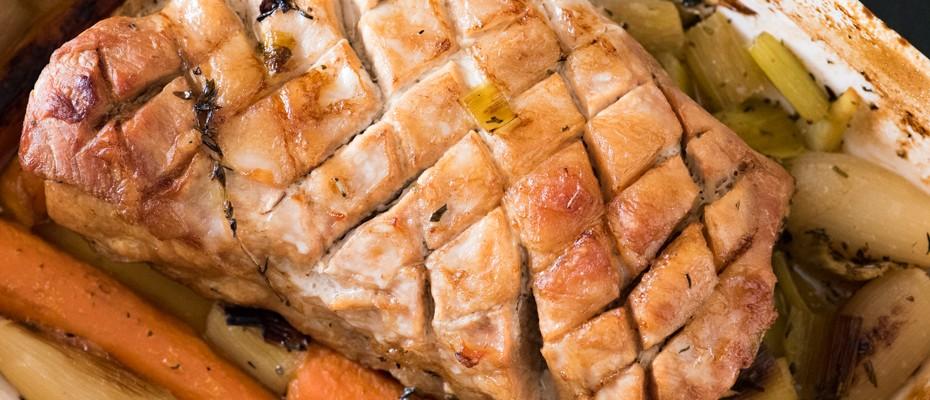 Свинско филе на фурна