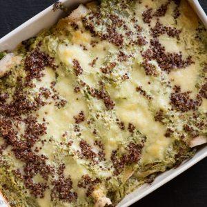 Spring casserol veggies