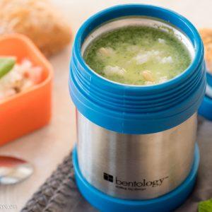 Крем супа от спанак на пара