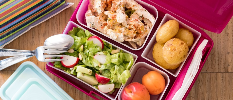 Lunchbox menu: Steamed Chicken with curry
